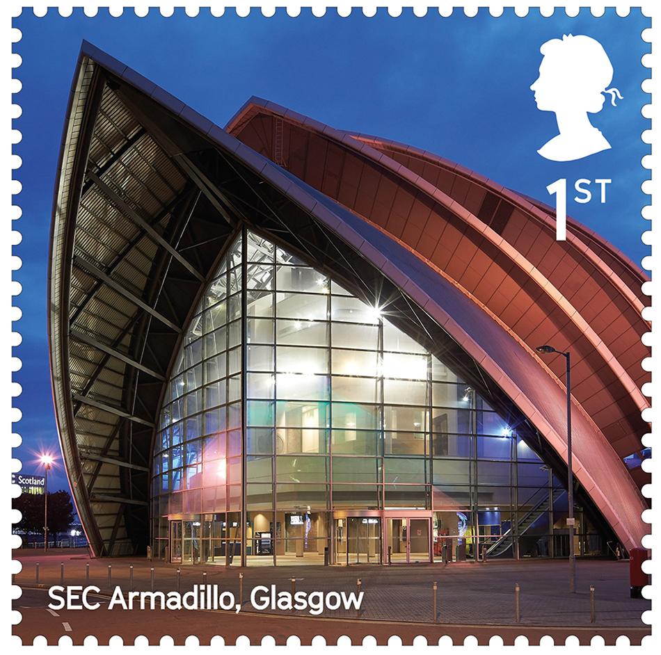 LB SEC Armadillo, Glasgow stamp 400%
