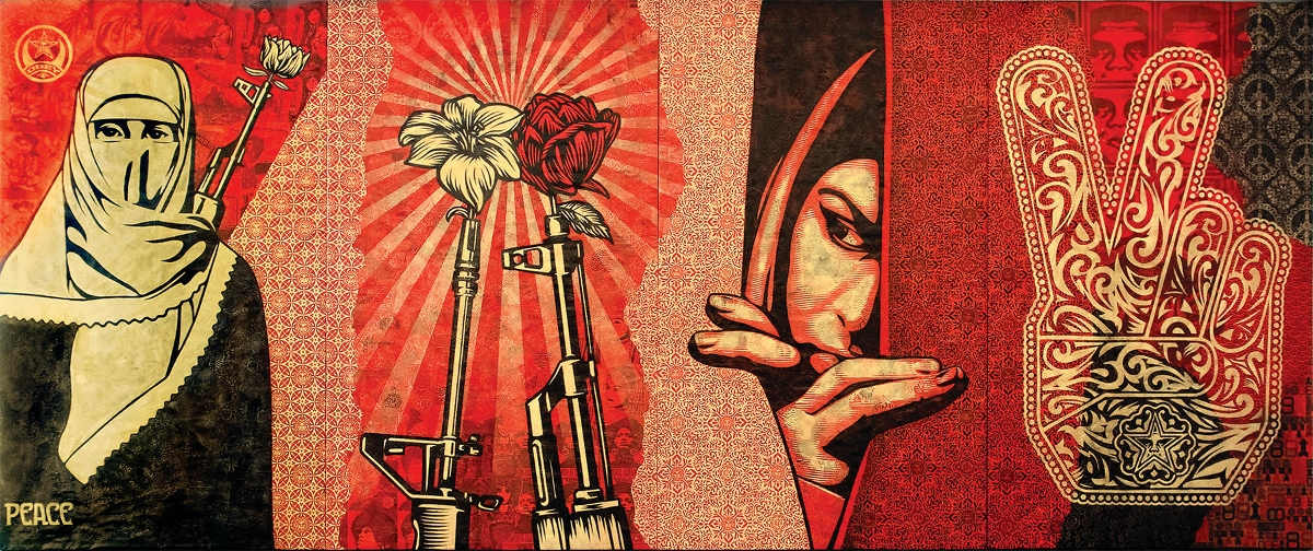 Obey Shepard, Fairey Obey Middle East Mural