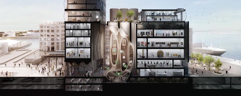 Zeitz Museum of Contemporary Art Africa (MOCAA), credit Heatherwick Studio