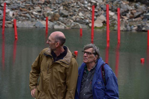 Alberto Timossi e Stefano Esposito, 2017 ph Claudio Orlandi