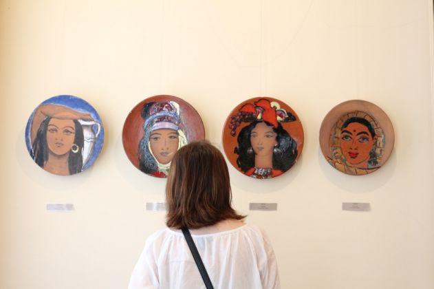 Alcune ceramiche delle sorelle Aslamazyan, Gyumri. Photo credits Arpine Haroyan