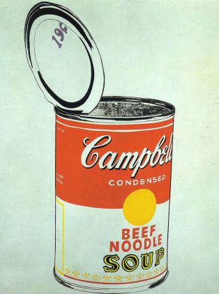 Andy Warhol, Big Campbell's Soup Can, 19 cents, 1962