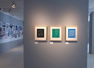 Anni Albers. The Prints. Exhibition view at Galleria Carla Sozzani, Milano 2017