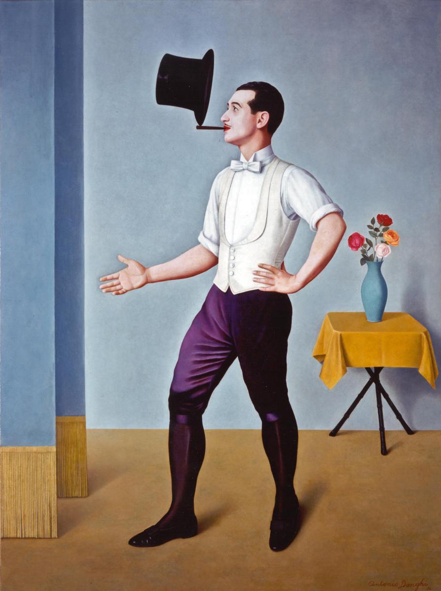 Antonio Donghi, Giocoliere, 1936, Unicredit Art Collection