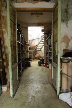 Anversa, Atelier Panamarenko. Photo Wim Van Eesbeek