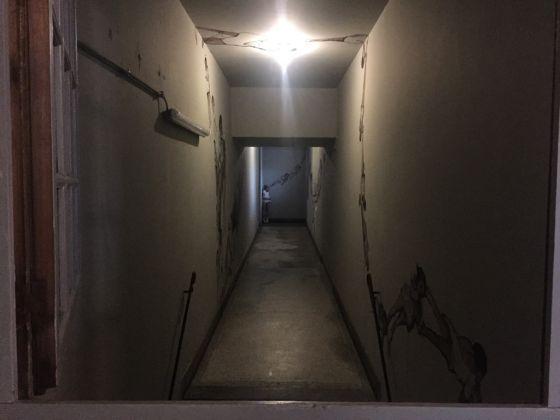 Anversa, Troubleyn Laboatorium, corridoio