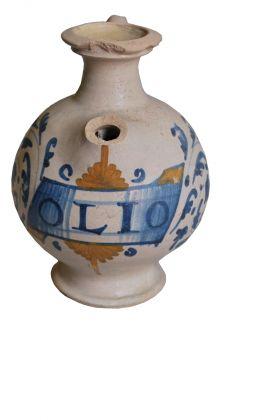 Brocca in ceramica a vetrina pesante, X sec.