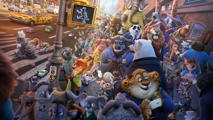 Byron Howard & Richard Moore, Zootropolis (2016)