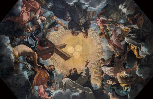 Carlo Bononi, Trinità adorata dai Santi (1616-17)