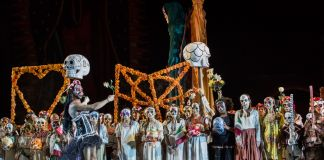 Carmen, Opera di Roma alle Terme di Caracalla, 2017. Photo Yasuko Kageyama