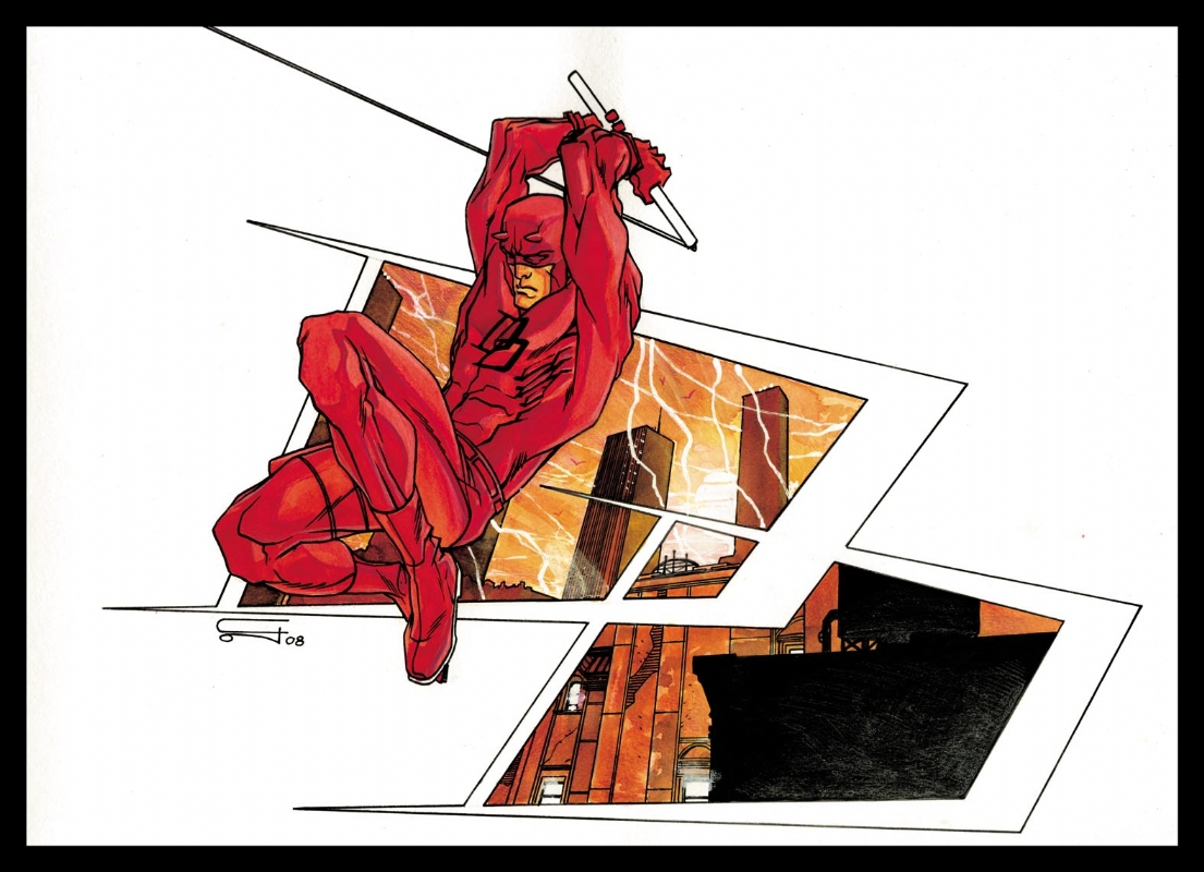 Carmine Di Giandomenico, Dare Devil, illustrazione