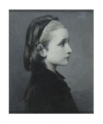 Célestin Joseph Blanc Head of a Girl, 1867 Oil on panel, 26.7 × 21.6 cm © Victoria and Albert Museum, London