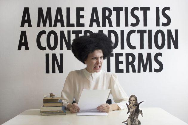 Chiara Fumai, Zalumma Agra reads Valerie Solanas, 2013