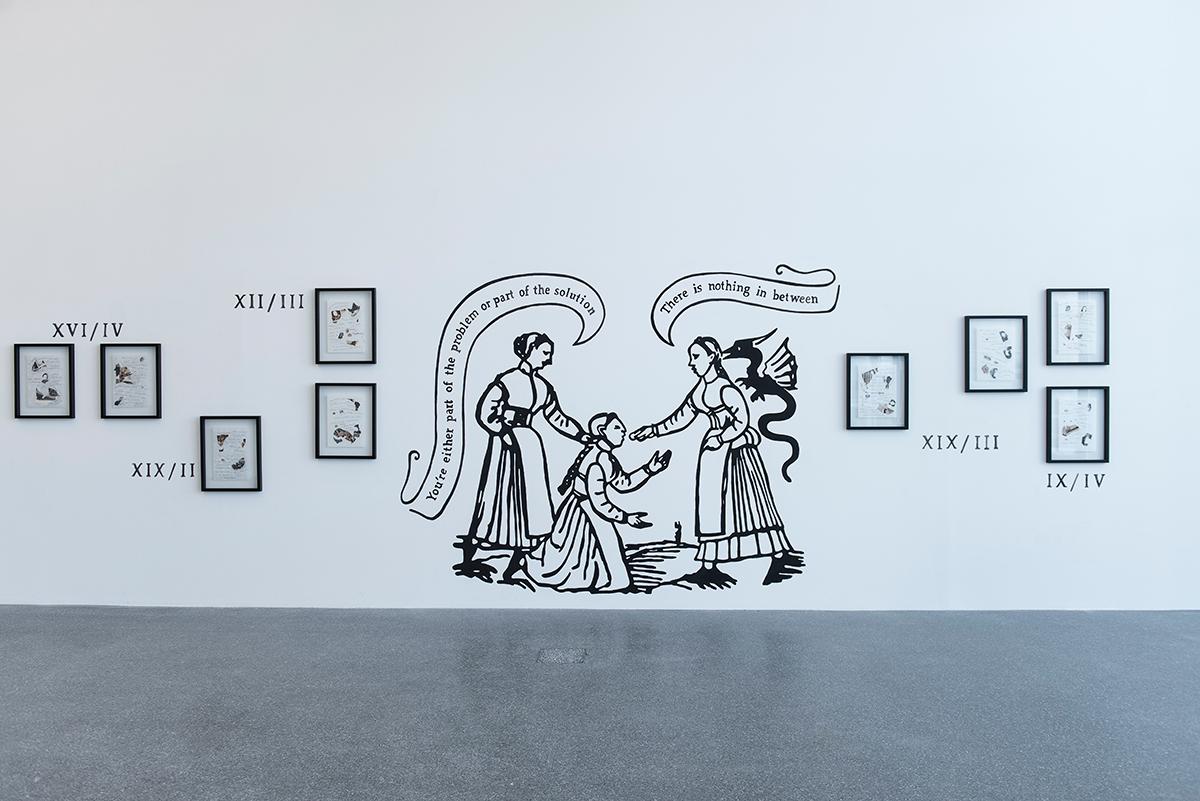Chiara Fumai. Der Hexenhammer, Museion, 2015