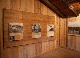Christo & Jeanne Claude. Rivelare/Révéler. Exhibition view at Les Maisons de Judith, Courmayeur 2017