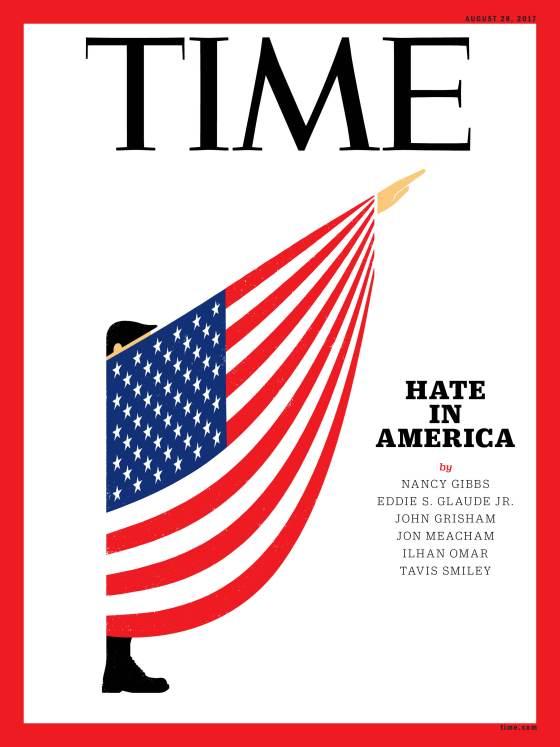 Cover del Time, agosto 2017