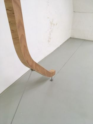 Daniele D'Acquisto. Regola. Installation view at Palazzo Comi, Gagliano del Capo 2017