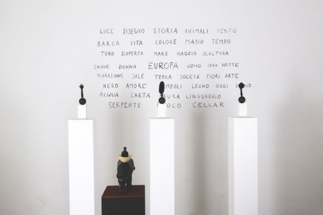 David Aaron Angeli. Europa. Exhibition view at Cellar Contemporary, Trento 2017