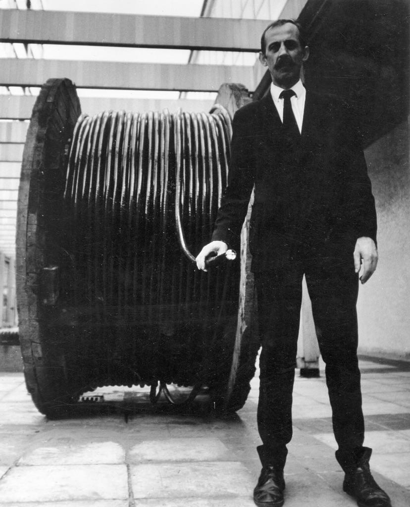 Edward Krasiński, Devidoir, 1970. Photo Eustachy Kossakowski, © Anka Ptaszkowska and archive of Museum of Modern Art Warsaw, courtesy Paulina Krasinska and Foksal Gallery Foundation