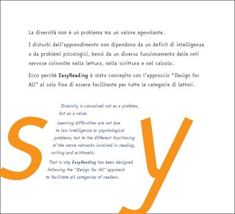 EasyReading, esempio di testo