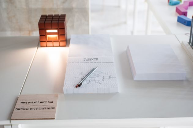 El Equipo Mazzanti. We Play, You Play. Exhibition view at SpazioFMG per l'Architettura, Milano 2017
