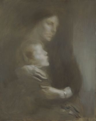 Eugène Carrière Maternity (Suffering), about 1896-7 Oil on canvas, 81.3 × 65.4 cm © Amgueddfa Genedlaethol Cymru - National Museum of Wales