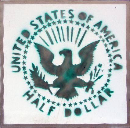 Franco Angeli, Half dollar, 1977