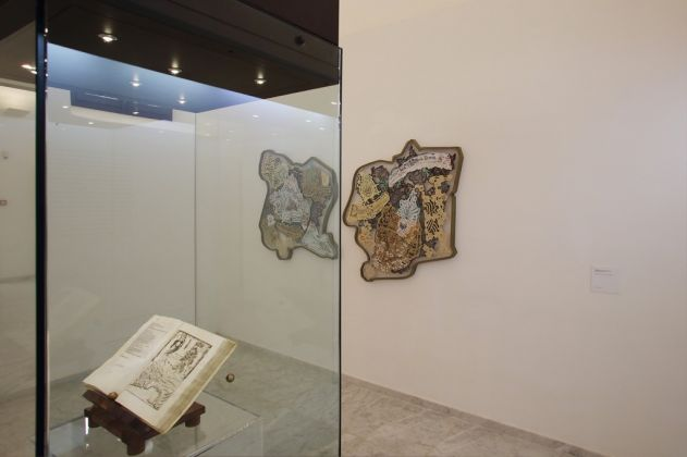 Gabriella Ciancimino, World_Wild, 2017. Veduta dell'installazione al Museo Salinas di Palermo. Courtesy l'artista