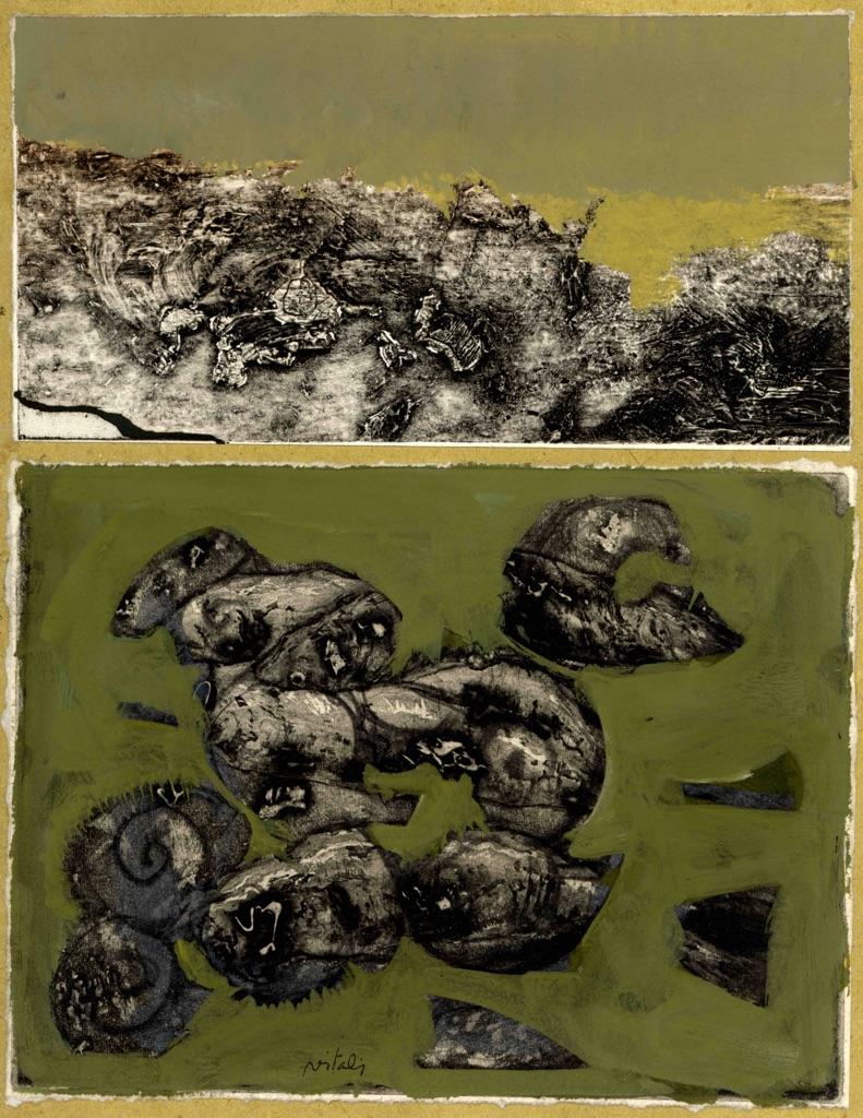 Giancarlo Vitali, Ombre fossili, 1991