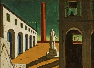 Giorgio de Chirico, Enigma della partenza, 1914,Fondazione Magnani Rocca, Mamiano di Traversetolo