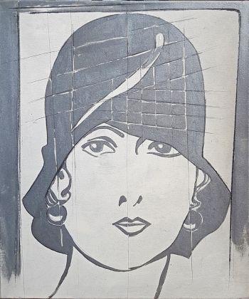 Giosetta Fioroni, Cappello viennese, 1968