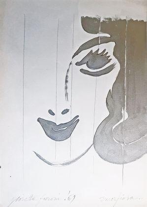 Giosetta Fioroni, La smorfiosa, 1969