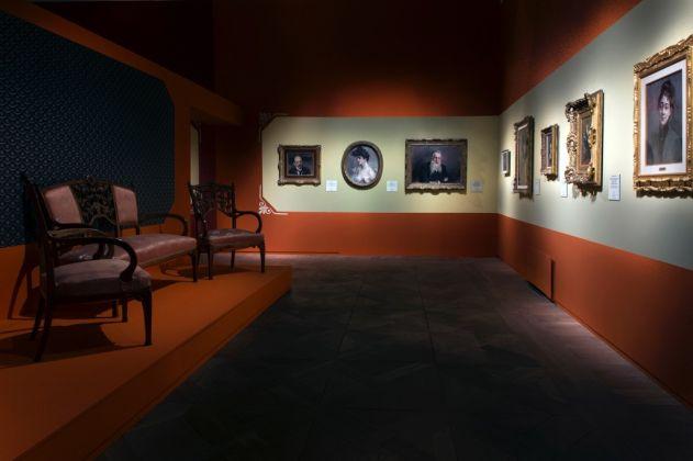 Giovanni Boldini. Exhibition view at Reggia di Venaria, 2017