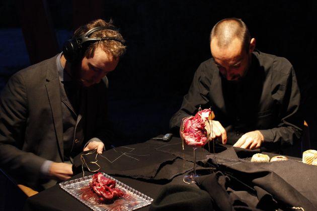 Giovanni Gaggia, Miratus Sum, performance 2017, foto Viola Fatyol