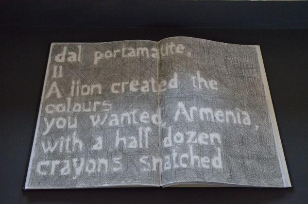 Giuseppe Caccavale, Armenia, Ossip Mandelstam, Dessins, 2014. Serguey Merkurov Museum, Gyumri 2017