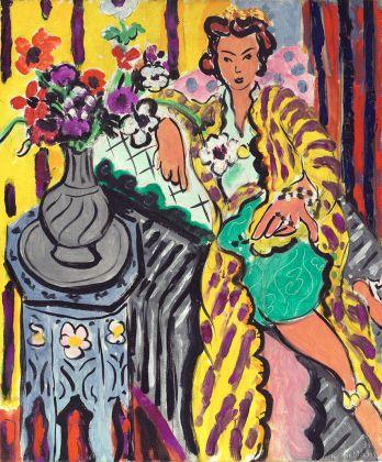 Henri Matisse, Yellow Odalisque, 1937. Philadelphia Museum of Art. The Samuel S. White 3rd and Vera White Collection, 1967 Photo © Philadelphia Museum of Art. Artwork © Succession H. Matisse DACS