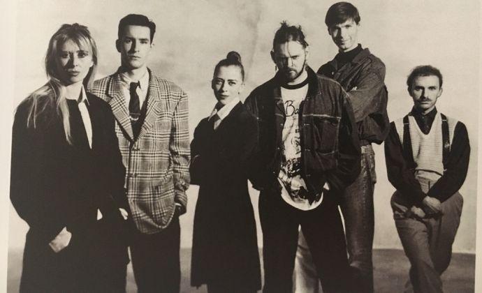 I sei di Anversa. Photo Karel Fonteyne, 1986