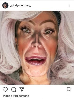 Cindy Sherman, Instagram