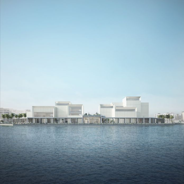 Jameel Arts Center, Dubai. Courtesy Serie Architects