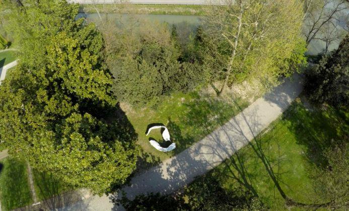 Janine von Thungen, Eternity II, 2017. Villa Foscari, Mira. Photo Alberto Guerri