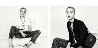 Jennifer Lawrence per Dior
