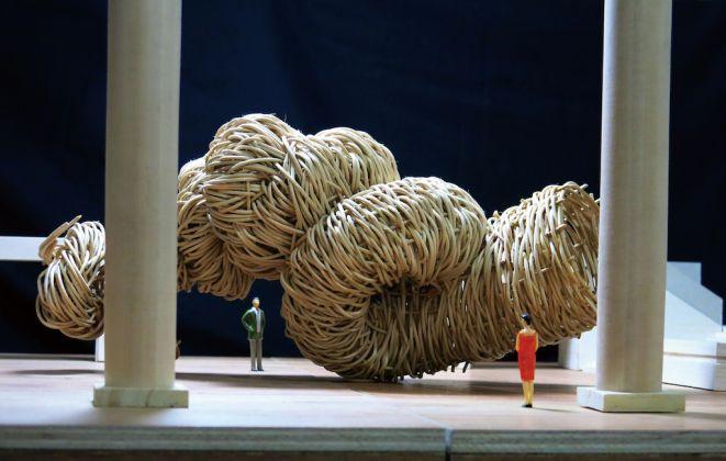 Joko AVIANTO, Mock-up of the work to be on exhibit in the Grand Gallery of Yokohama Museum of Art