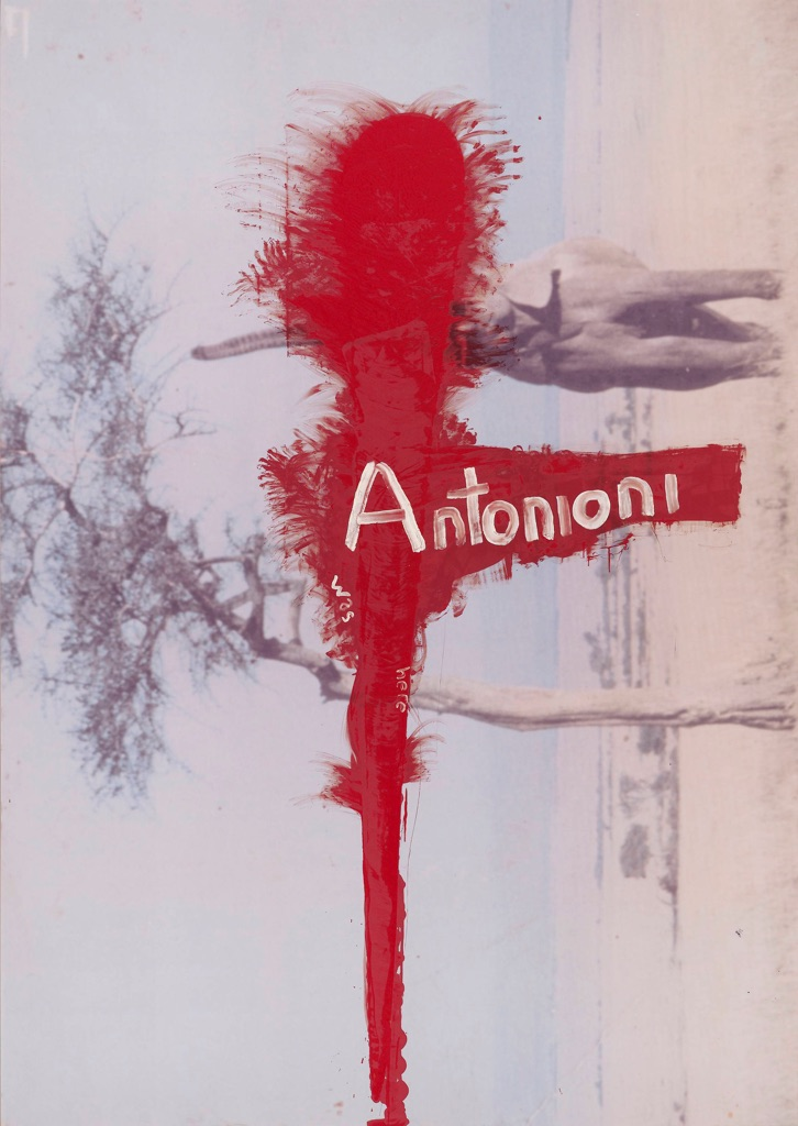 Julian Schnabel, Untitled (Antonioni was here), 2010. Copyright Julian Schnabel