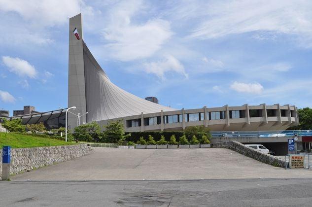 Yoyogi National Gymnasium (Kenzo Tange, 1964), Tokyo, Giappone