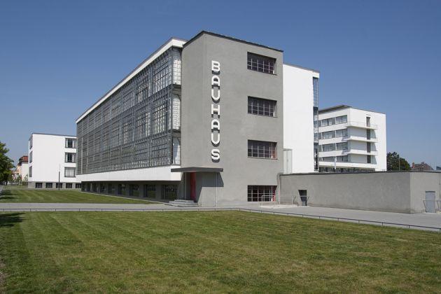 La sede del Bauhaus (Walter Gropius, 1925), Dessau, Germania