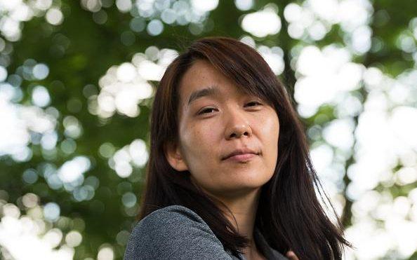 La scrittrice Han Kang
