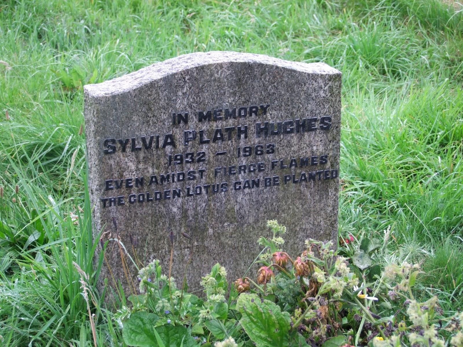 La tomba di Sylvia Plath ph. bookraider rosarita