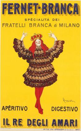 Leonetto Cappiello, Fernet Branca Il re degli amari, 1909