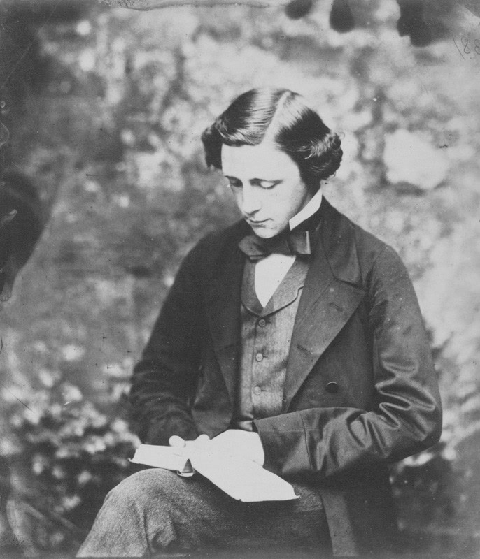 Lewis Carroll, autoritratto, 1856