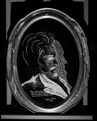 Lorenzo Ostuni, Autoritratto con il padre